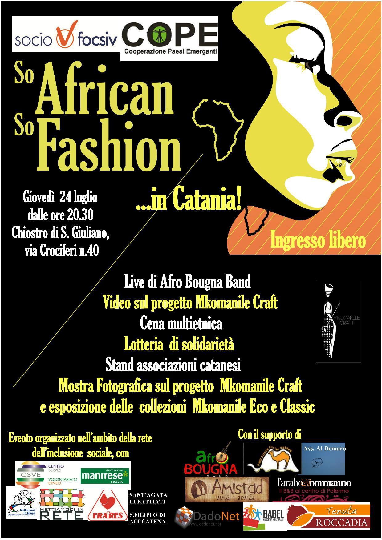 """So African So Fashion...in Catania"""